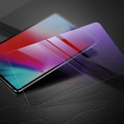 Apple Baseus 0 3 mm 9H Anti Blue-ray anti-kras Slim getemperd glas Film Screen Protector voor iPad Pro 11 inch (2018)(Transparent)