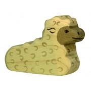 Fa játék állatok - bárány, fekvő