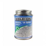 IPS Weld-On 747, 118ml Blue Glue (Spa Plumbing Part)