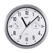 Ceas de perete cuarţ, argintiu, Mebus 06992
