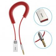 Baseus BA01 Universal Bluetooth Audio Adapter - Red