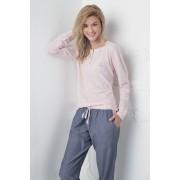 Pijama dama Alice roz-albastru