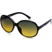 Fastrack Over-sized Sunglasses(Green)