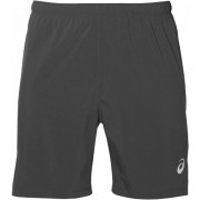 Asics Silver 7'' 2-in-1 Short Men - Male - Donkergrijs - Grootte: Extra Large