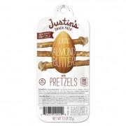 Nut Butter Snack Packs, Classic Almond Butter W/pretzels, 1.3 Oz Pack, 6/box