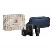Trussardi uomo confezione desert print beauty eau de toilette 50 ML EDT + 100 ML Shower Gel + Beauty (cofanetto)