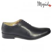 Pantofi barbati, din piele naturala 14701/Albastru/Fabio