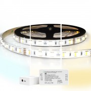5 meter complete set Dual White led strip met Zigbee controller