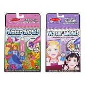 Melissa and Doug Water Wow Bundles: Fairy Tale/Makeup and Manicures