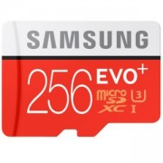 Карта памет Samsung, 256GB, micro SD Card EVO+, with Adapter, Class10, UHS-1 Grade1, Read 80MB/s - Write 20MB/s, MB-MC256DA/EU