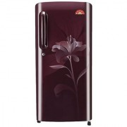LG GL-B241ASLT 235 Litres Single Door Direct Cool Refrigerator (Scarlet Lily)