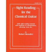 Sight Reading for the Classical Guitar, Level I-III: Daily Sight Reading Material with Emphasis on Interpretation, Phrasing, Form, and More, Paperback
