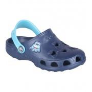 COQUI LITTLE FROG Dětské sandály 8701-127 Navy/Blue 2324