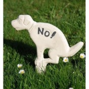 NO hondenpoep wit
