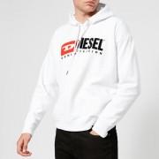 Diesel Men's Division Overhead Hoody - White - XL