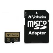 Verbatim Pro+ MicroSDHC - 32 GB