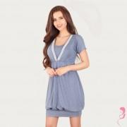 Lupoline Voedingsshirt / Zwangerschapsshirt Dark Blue