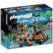 Комплект Плеймобил 6041 - Рицари вълци с катапулт, Playmobil, 291063