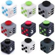 Cube Meteor Relieves Stress and Anxiety for Children and Adults Attention Toy in Matt Finish