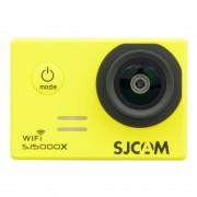 SJCAM SJ5000X WiFi Ultra HD 2K caméra vidéo 2.0 pouces LCD avec étui étanche, grand angle 170 degrés, 30m étanche (jaune)