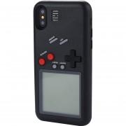 Wanle Vc-061 Para IPhone X 3D Puzzle Juego Maquina Diseñada Duro Volver Funda De Silicona Protectora (negro)