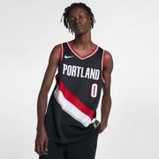 Damian Lillard Icon Edition Swingman Jersey (Portland Trail Blazers) Nike NBA Connected Trikot für Herren - Schwarz