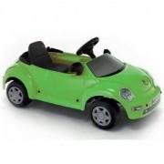 Детска кола с педали VW NEW BEETLE - Зелена, 313014