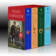 Outlander Boxed Set: Outlander, Dragonfly in Amber, Voyager, Drums of Autumn, Paperback