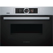 Bosch Serie 8 CMG676BS6B Built In Combination Microwave