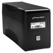UPS PowerWalker Line-Interactive 650VA/360W, RJ11 IN/OUT, USB (VI 650 LCD)