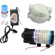 EarthRoSystem Service pump1 X Smps(24 v) 1x Solenoid Valve (Sv) 24 V 1 x pump(75 GPD) 2 x elbow 1 pump head