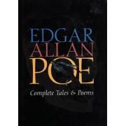 Edgar Allan Poe Complete Tales & Poems, Hardcover