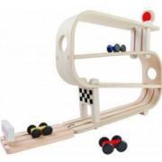 Set lemn - Pista pentru curse de masinute