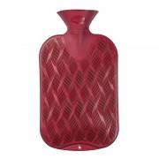 Geen Warm water kruiken rood 2 liter