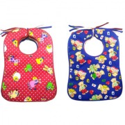 DRESS WELL Premium Quality Super Soft Daily Use Elegant Towel bibs (Multicolor)