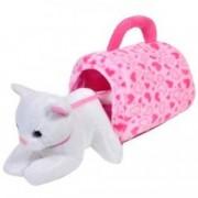 Pisicuta plus pisica alba roz gentuta plus inimioare roz