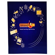 Extramarks Small Size Notebook- Single Line Ruling,120 Pages, Soft Cover- Pack of 12