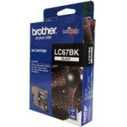 Brother Lc-67bk Black Ink For Dcp-385c/395cn/585cw/6690cw/j715w, Mfc-490cw/5490cn/5890cn/6490cw/6890cdw/790cw/795cw/990cw-up To 450 Pages