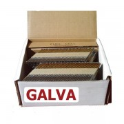 Pointes 34° crantées GALVA 2.8x50 boite de 2200 avec gaz