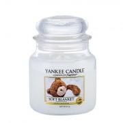 Yankee Candle Soft Blanket vonná svíčka 411 g