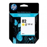 HP 82 Original Ink Cartridge C4913A Yellow