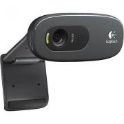 Logitech C270 HD webcam 1280 x 720 pix Stand, Clip mount