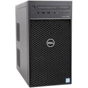 Calculator Sistem PC Dell Precision 3630 Tower (Procesor Intel® Core™ i5-8600 (9M Cache, up to 4.30 GHz), Coffee Lake, 8GB, 256GB SSD, nVidia Quadro P1000 @4GB, Linux, Negru)