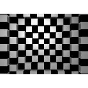 W + G Wizzard and Genius Fotobehang Black + White Squares