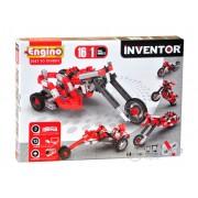 Set de montare modele Engino Inventor, Motorete, 16 in 1