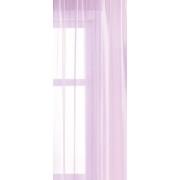 Fehér voila kész függöny zöld bordűrös virágos II./018/Cikkszám:0710293