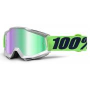 100% Accuri Extra Motokrosové brýle Jedna velikost Zelená