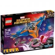 LEGO Marvel Super Heroes: Guardians of the Galaxy Vol.2 Le vaisseau Milano contre l'Abilisk (76081)