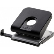 Perforator de birou, pentru maxim 25 coli, negru, NOVUS Master
