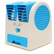 NP NAVEEN PLASTIC New Fashion Mini Small Fan Cooling Portable Desktop Dual Bladeless water Air Cooler USB
